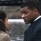 Gugu Mbatha-Raw (l) and Will Smith star in Columbia Pictures' Concussion. Photo courtesy of Columbia Pictures