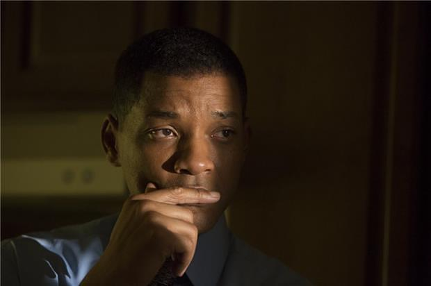 Will Smith star in Columbia Pictures' Concussion opening December 25. Credit: Photo by Melina Sue Gordan; Columbia Pictures Industries, Inc. All rights reserved.