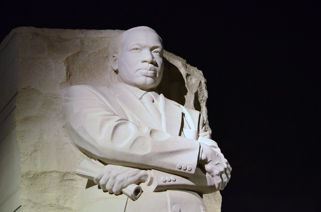 Martin Luther King, Jr. Monument, Washington, D.C.  (Angela N/Flickr/CC BY 2.0)
