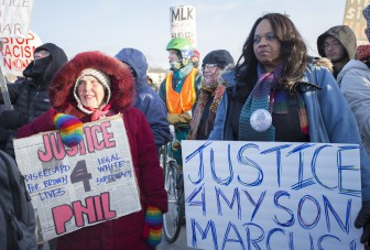 PHOTOS | Protesters march for justice on MLK Day