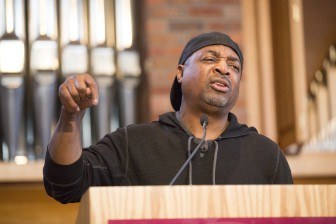 PHOTOS | Rapper Chuck D refocused MLK Day from past to present