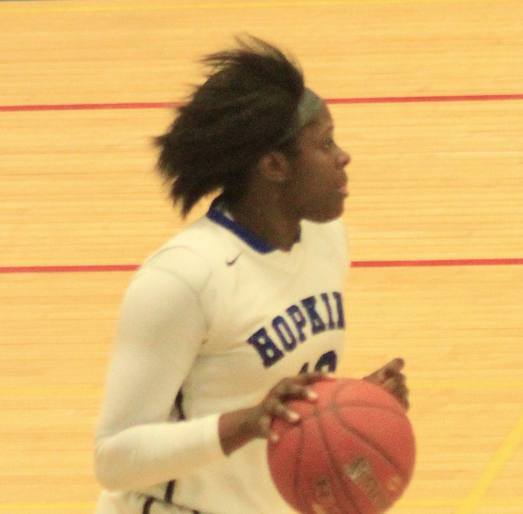Nia Hollie scored 33 points in leading Hopkins past Eden Prairie last week. She averages a team-leading 16 points per game for the Royals.