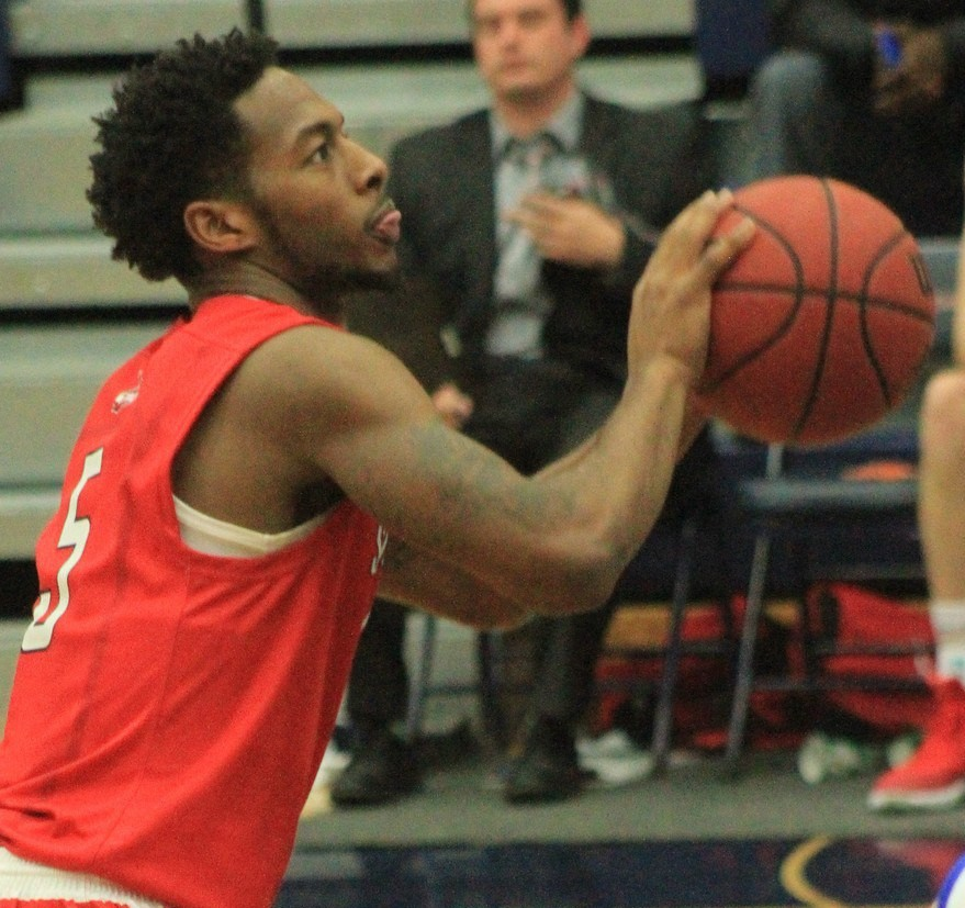 Former St. Paul Johnson boys' basketball standout Quashingm Smith-Pugh is a starting junior guard at St. Mary's University.