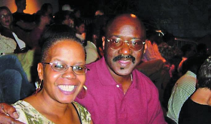 Donald J. Patterson and wife Michelle