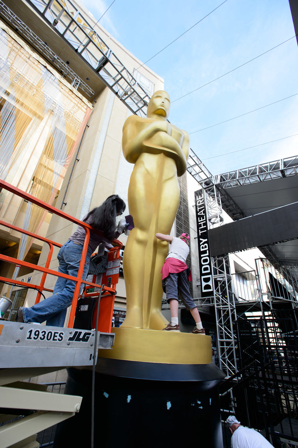 Preparations continue Tuesday February 23, 2016 for the 88th Oscars® for outstanding film achievements of 2015 which will be presented on Sunday, February 28, 2016 at the Dolby® Theatre and televised live by the ABC Television Network.