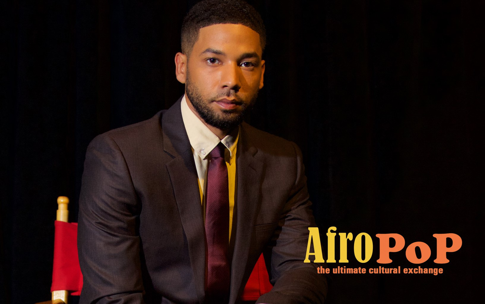 Jussie Smollett, host of 'AfroPoP' 8.