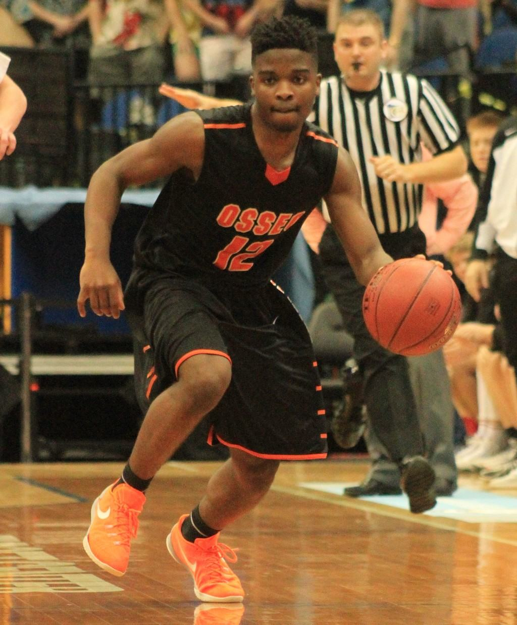The steady play of Allan Anderson contributed in Osseo's Class AAAA boys' basketball quarterfinal victory.