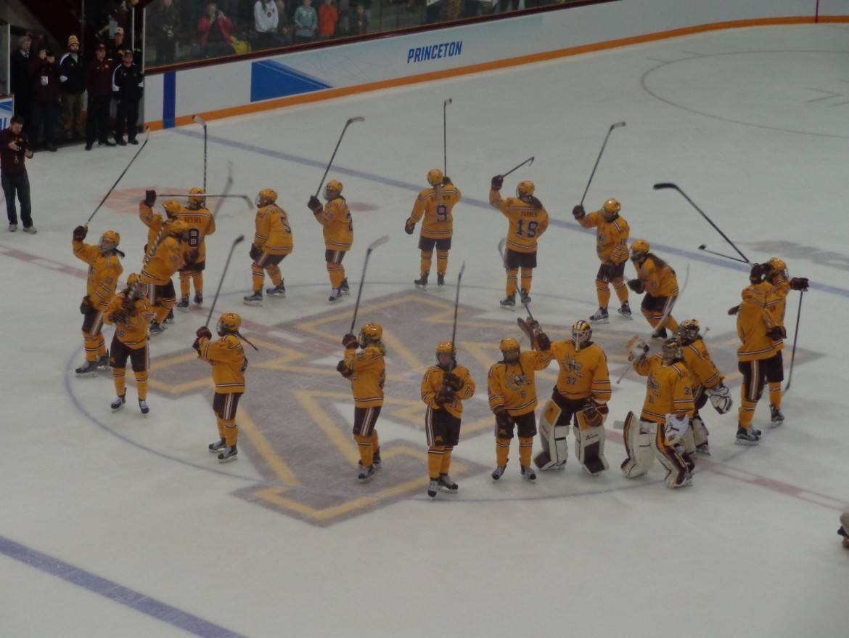 Gopher women hockey team