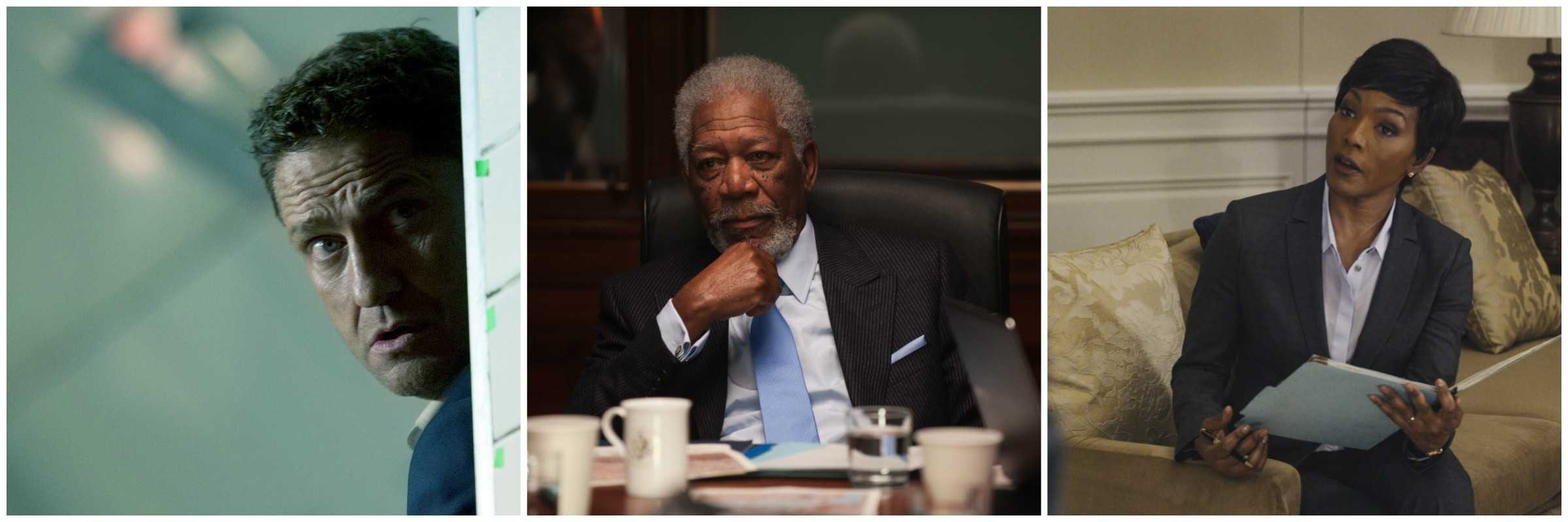 Gerard Butler, Morgan Freeman and Angela Bassett star in 'London Has Fallen'