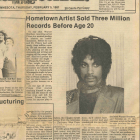 From the MSR Legacy Archives | Prince at age 20