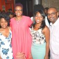 (l-r) Joane McAfee, Natalie Johnson-Lee, Leigh Lovett, and Andre McNeal. (Photo by Travis Lee))