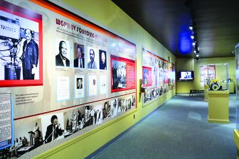 Traveling exhibit tells the story of WGPR-TV