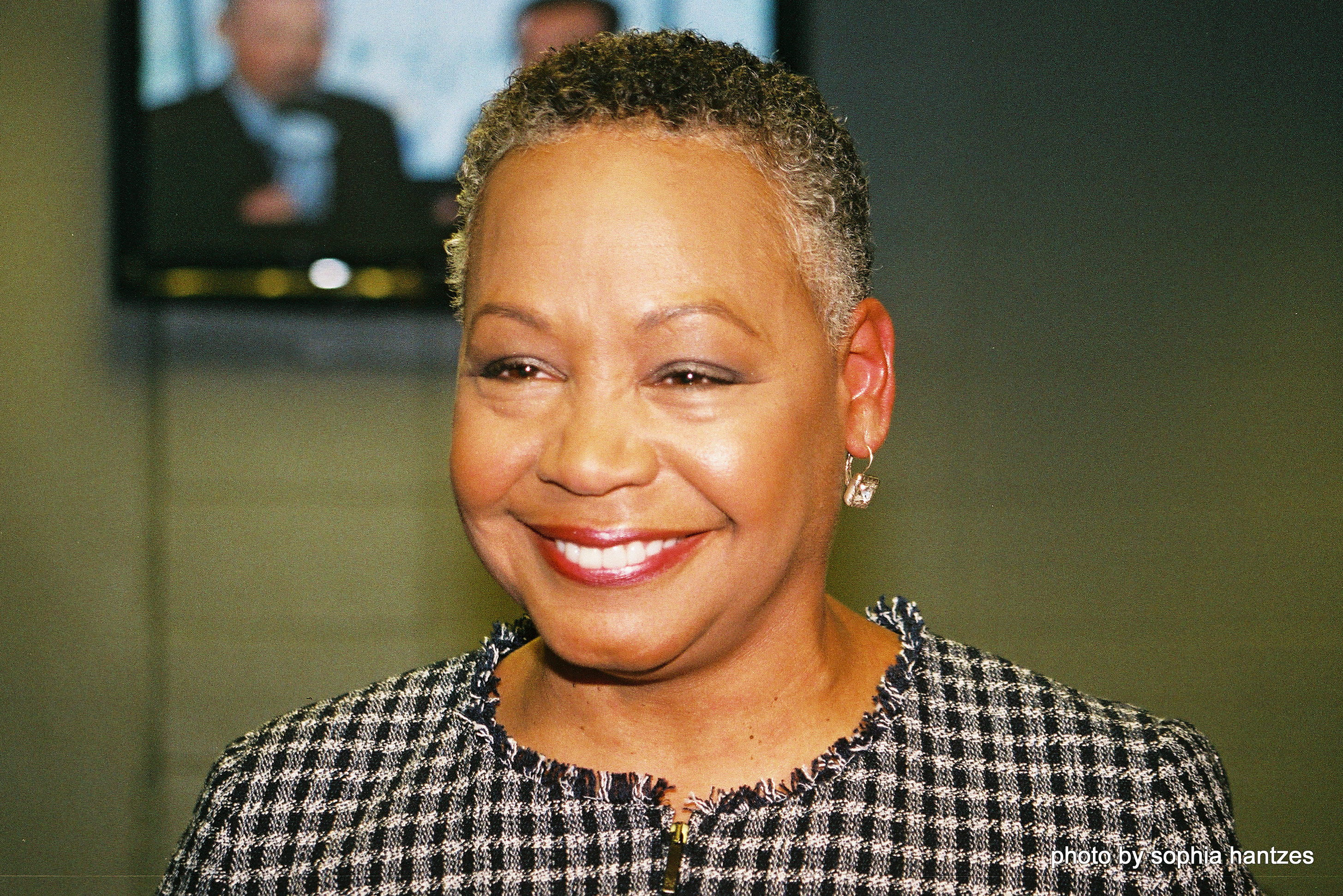 Lisa Borders (Photo by Sophia Hantzes)
