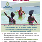 2016 MPRB Swimming Lesson Scholarship Program