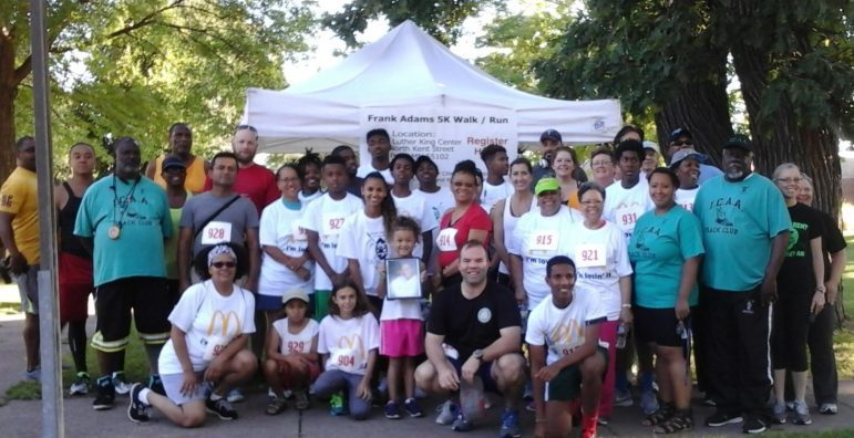 Runners at the Rondo Days 5k. July 16, 2016