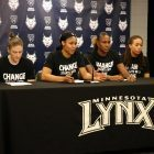 UPDATED: Lynx players wear shirts to honor victims of violence and raise awareness