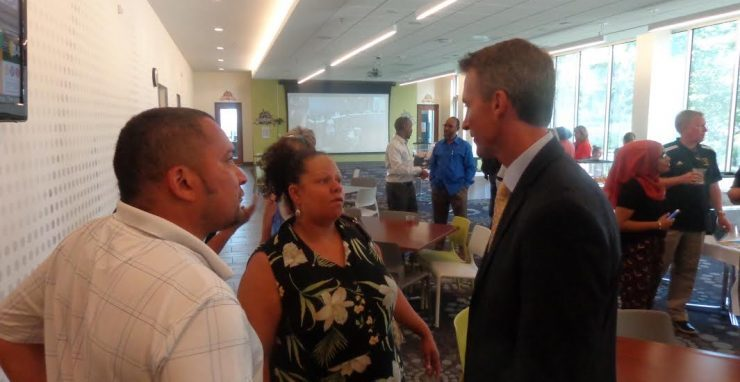 New Mpls schools super gets 'official' welcome