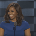 VIDEO | First Lady Michelle Obama aims high — gives rousing speech at DNC