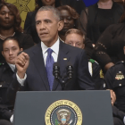VIDEO| President Obama aims to unite a divided nation at Dallas memorial