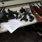 Buyback gets guns off the street into artists' hands