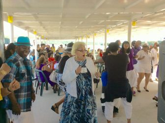 PHOTO OF THE WEEK | Dancing on the Legacy Boat Cruise!