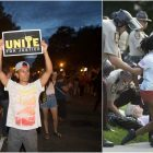 Peaceful Castile protest continues at governor's mansion