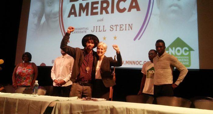 Black community 'first in line', pledges Stein