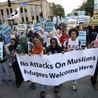PHOTOS | Muslim residents and supporters march against Islamophobia