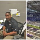 Vikings stadium payoff: Diverse cleaning crew charged with huge facility's maintenance