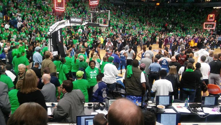 After the Lynx's 77-76 Finals loss Oct. 20.