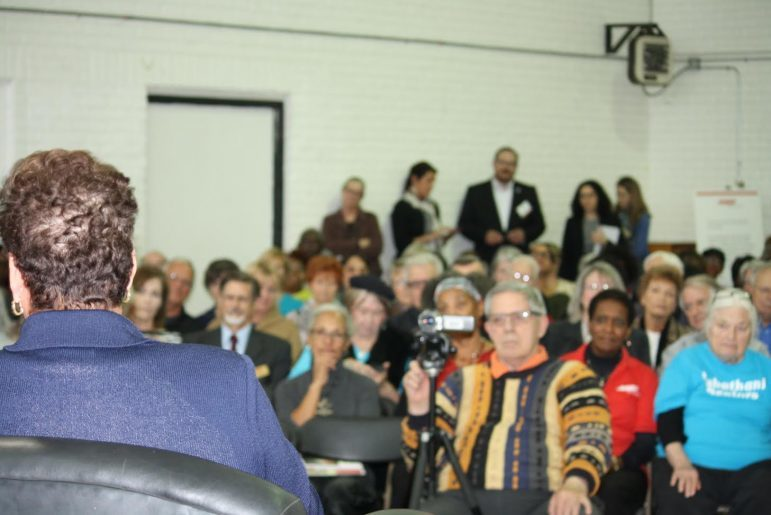Approximately 200 people came to hear AARP President/CEO Jo Ann Jenkins speak about aging