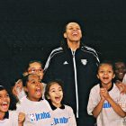 Lynx players encourage and coach kids in North Mpls