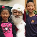 What's wrong with a Black Santa?