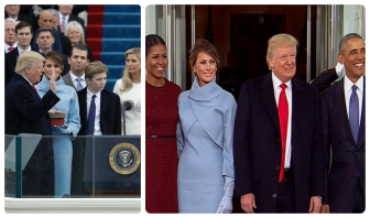 Blacks, minorities largely absent during Trump inauguration