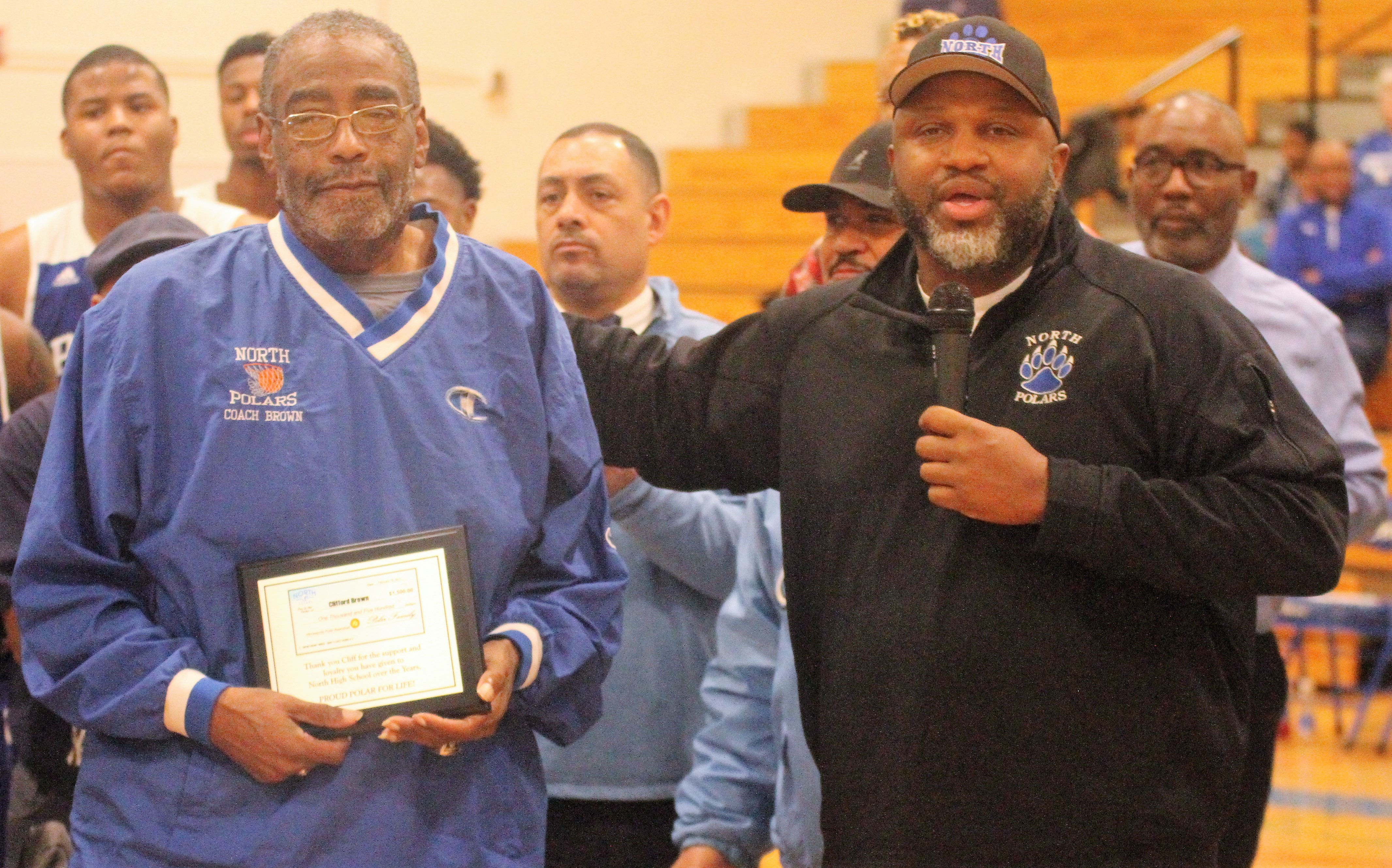 Former coach honored at Minneapolis North | MN Spokesman-Recorder