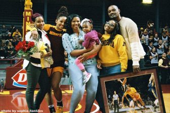 Gopher senior night disappoints Mpls native player and family