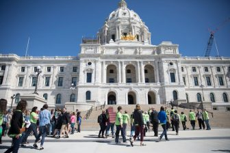 Rally urges passage of $100 million affordable housing bond