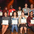 Black grads and their families feted