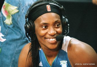Lynx's Fowles credits her stellar play to footwork and poise