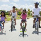 For bicycle safety, the key is VISIBILITY!