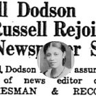 Remembering Nell Dodson Russell: reporter, columnist, truth-teller