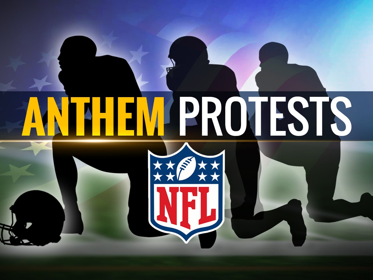 No punishment for players not present for national anthem