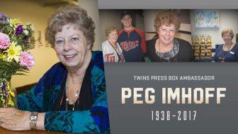An ode to Peg —  Twins 'press box ambassador' passes away