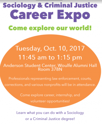 Sociology & Criminal Justice Career Expo @ Anderson Student Center, Woulfe Alumni Hall Rom 378N | Saint Paul | Minnesota | United States