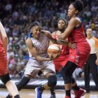 Lynx dominate Washington to win Game 1