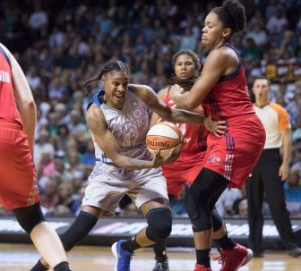 Lynx dominate Washington to win Game 1