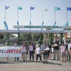 "PHOTOS | #InjusticeOnAStick"" protest at the MN State Fair"