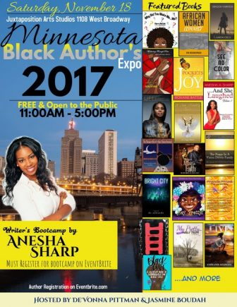 Minnesota Black Author's Expo @ Juxtaposition Arts Studios | Minneapolis | Minnesota | United States