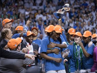 Photo gallery | Lynx victorious over Sparks, win fourth title