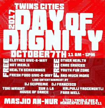Twin Cities Day of Dignity @ Masjid An-Nur | Minneapolis | Minnesota | United States